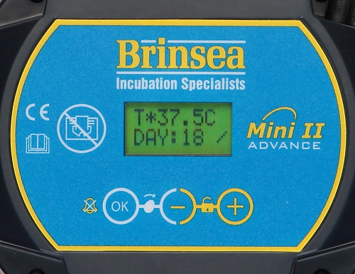Brinsea Advance Incubators Digital Controls